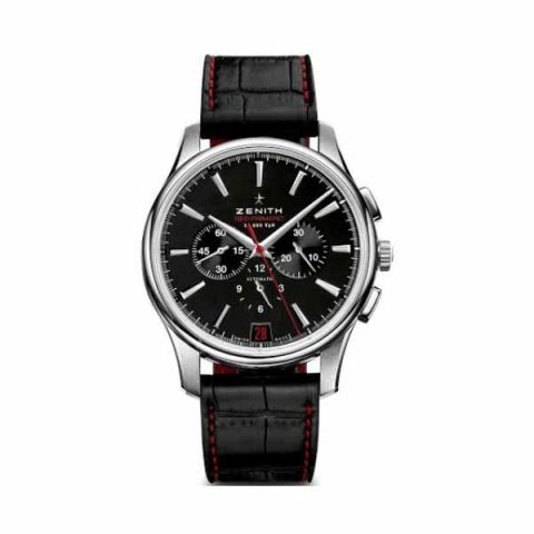 Zenith Pre-Owned Captain Chronograph Limited Edition 42mm Stainless Steel Men's Watch