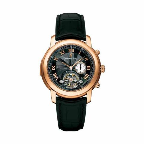 AUDEMARS PIGUET JULES AUDEMARS TOURBILLON CHRONOGRAPH MINUTE REPEATER 43MM 18K ROSE GOLD MEN'S WATCH