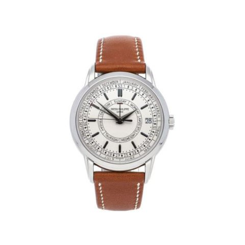 PATEK PHILIPPE CALATRAVA 40MM STAINLESS STEEL MEN'S WATCH