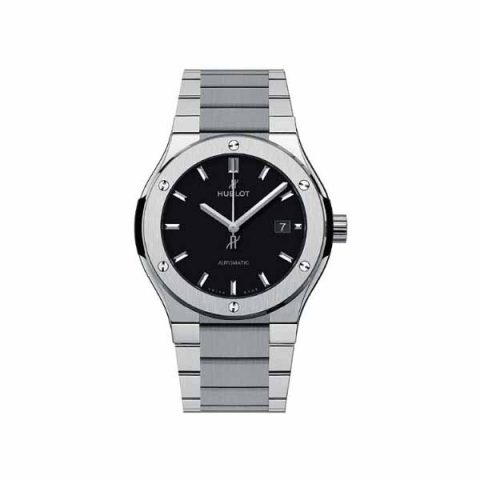 HUBLOT CLASSIC FUSION 42MM TITANIUM MEN'S WATCH