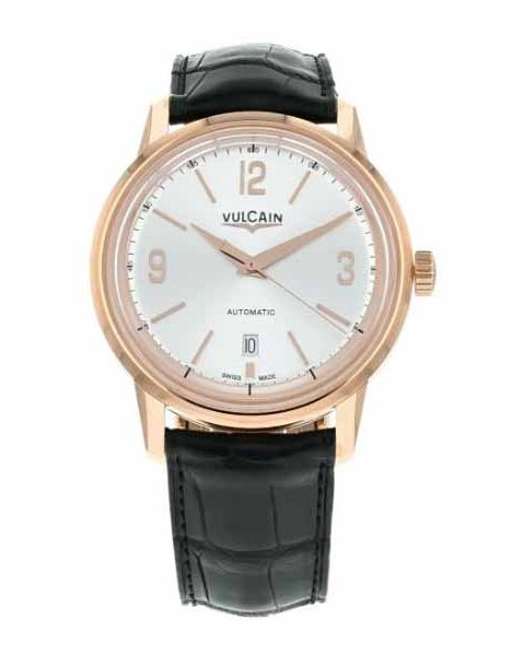 VULCAIN 42MM 18K ROSE GOLD MENS WATCH