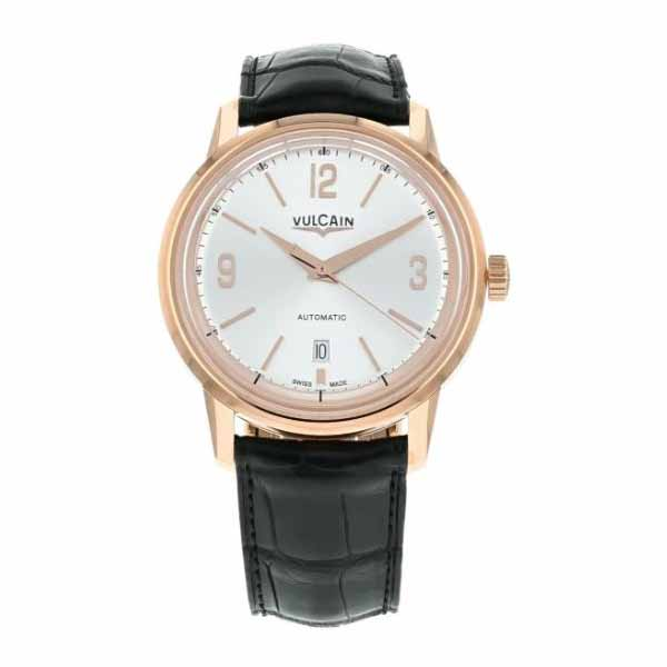 VULCAIN 42MM 18K ROSE GOLD MEN?S WATCH