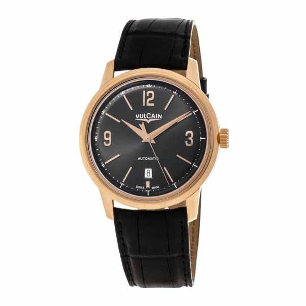 VULCAIN 42MM 18K ROSE GOLD MEN'S WATCH
