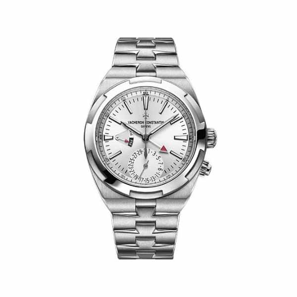 VACHERON CONSTANTIN OVERSEAS DUAL TIME 41MM STAINLESS STEEL MEN'S WATCH