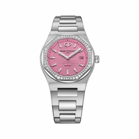GIRARD PERREGAUX LAUREATO SUMMER LIMITED EDITION 34MM STAINLESS STEEL LADIES WATCH