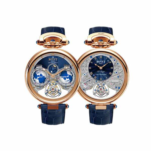 BOVET AMADEO FLEURIER EDOUARD FLYING TOURBILLON 46MM 18K ROSE GOLD MEN'S WATCH