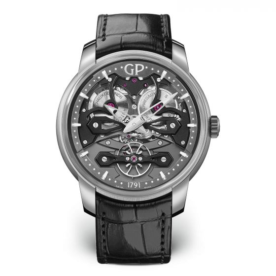 GIRARD PERREGAUX NEO BRIDGES 45MM TITANIUM MEN'S WATCH