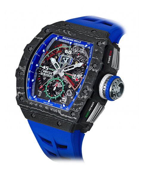 Richard Mille Pre-owned Automatic Flyback Chronograph Roberto Mancini Men's Watch
