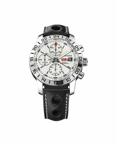 CHOPARD MILLE MIGLIA GMT CHRONOGRAPH 42MM STAINLESS STEEL MEN'S WATCH