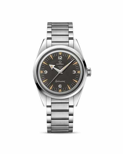 OMEGA THE 1957 TRILOGY RAILMASTER LIMITED EDITION 38MM STAINLESS STEEL MEN'S WATCH