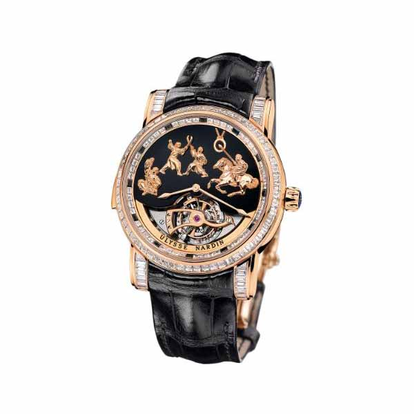 ULYSSE NARDIN GENGHIS KHAN 42MM 18K ROSE GOLD LIMITED EDITION MEN'S WATCH