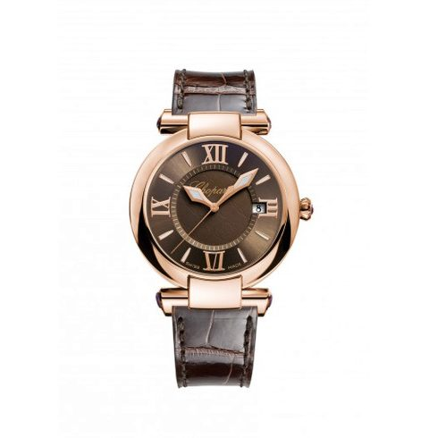 Chopard Pre-owned Imperiale 36mm 18k Rose Gold Ladies Watch