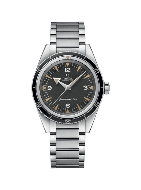 OMEGA SPECIALTIES THE 1957 TRILOGY SET LIMITED EDITION 39MM STAINLESS STEEL BLACK TROPICAL DIAL MEN'S WATCH