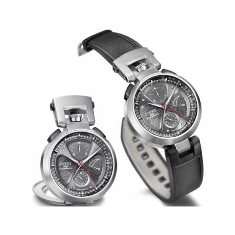 BOVET SERGIO SPLIT SECOND CHRONOGRAPH 45MM STAINLESS STEEL LIMITED EDITION 250PCS MEN'S WATCH