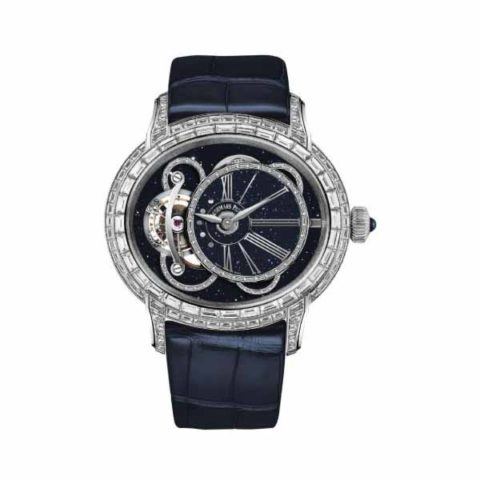 AUDEMARS PIGUET MILLENARY TOURBILLON 45MM 18K WHITE GOLD MEN'S WATCH