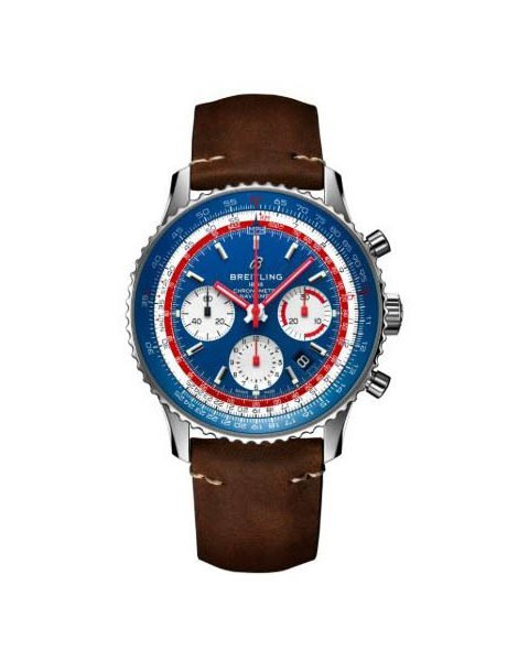 Breitling Pre-owned Navitimer 1 B01 Chronograph 43mm Stainless Steel Men's Watch
