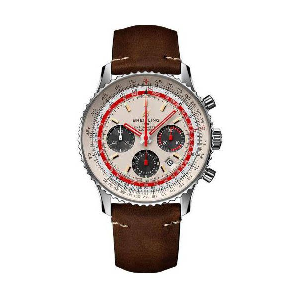 BREITLING NAVITIMER 43MM STAINLESS STEEL TWA SPECIAL EDITION MEN'S WATCH