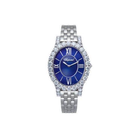 CHOPARD DIAMANT COLLECTION 40MM 18K WHITE GOLD LADIES WATCH