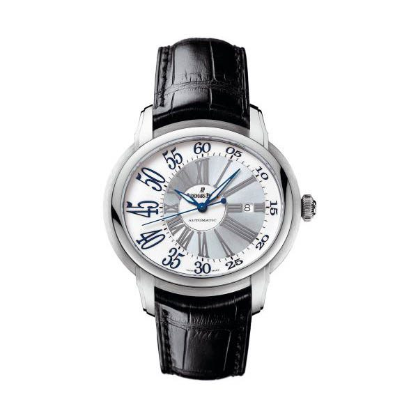 AUDEMARS PIGUET MILLENARY AUTHOMATIC WHITE GOLD MEN'S WATCH