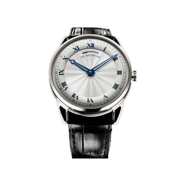DEBETHUNE DB25 44MM 18K WHITE GOLD MEN'S WATCH