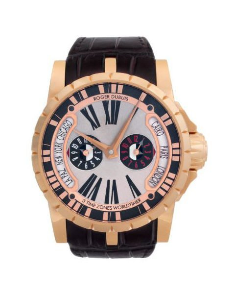 ROGER DUBUIS EXCALIBUR 45MM 18K ROSE GOLD LIMITED EDITION OF 88 PIECES MEN'S WATCH