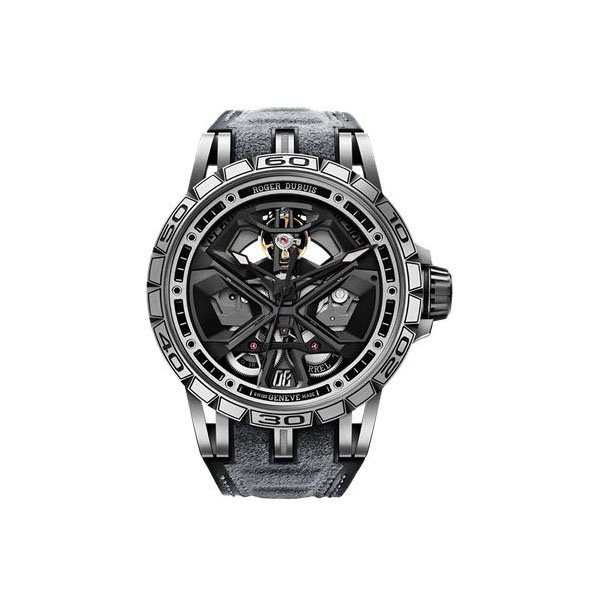 ROGER DUBUIS EXCALIBUR HURACAN 45MM TITANIUM MEN'S WATCH