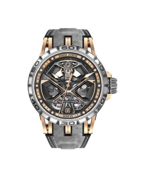 ROGER DUBUIS EXCALIBUR SPIDER HURACAN 45MM TITANIUM MEN'S WATCH