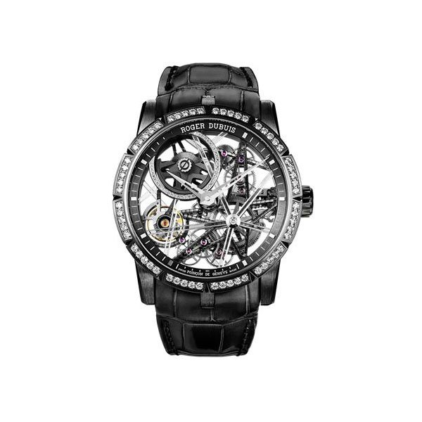 ROGER DUBUIS EXCALIBUR BLACKLIGHT LIMITED EDITION OF 88 PIECES 42MM TITANIUM MEN'S WATCH