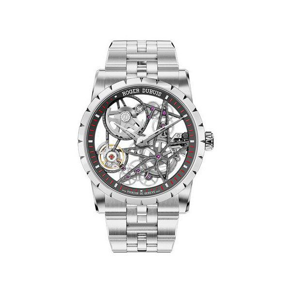 ROGER DUBUIS EXCALIBUR 42MM STAINLESS STEEL MEN'S WATCH