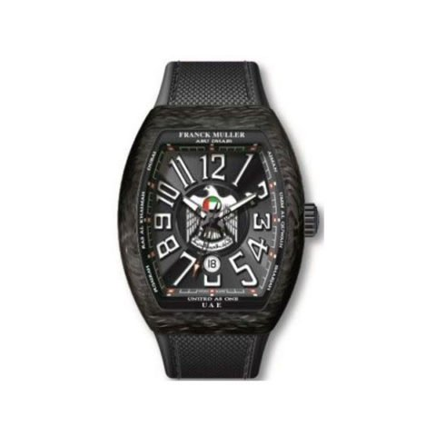 FRANCK MULLER EMIRATI LIMITED EDITION 45MM CARBON BLACK MEN'S WATCH
