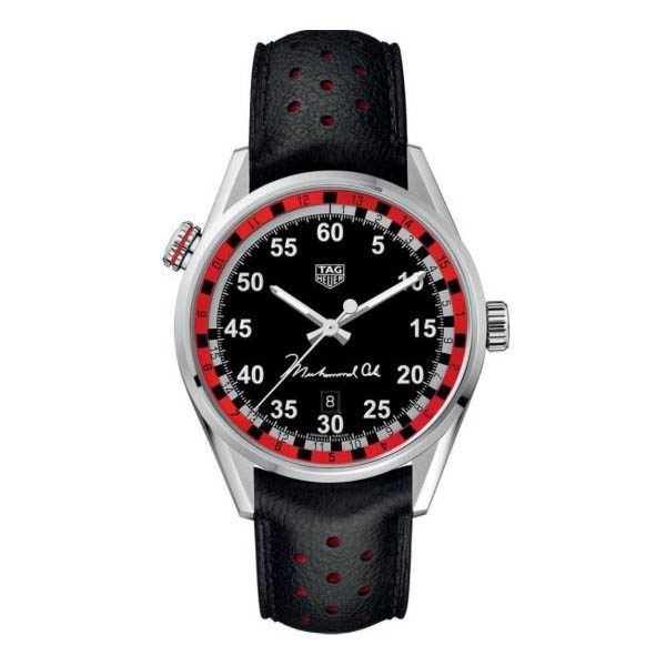 TAG HEUER CARRERA TRIBUTE TO MUHAMMAD ALI SPECIAL EDITION 43MM STAINLESS STEEL MEN'S WATCH
