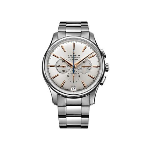ZENITH CAPTAIN CHRONOGRAPH 42MM STAINLESS STEEL MEN'S WATCH