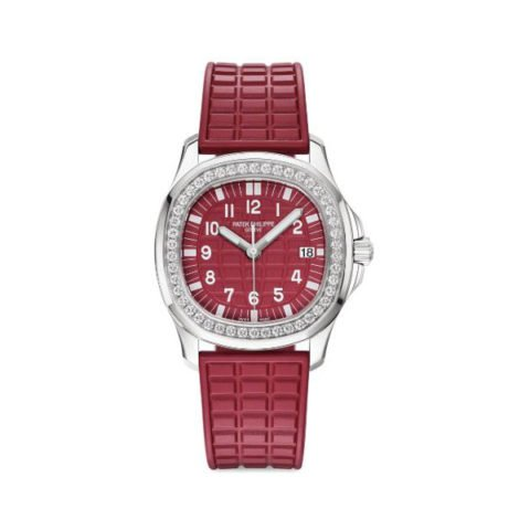 PATEK PHILIPPE AQUANAUT LUCE SINGAPORE 2019 SPECIAL EDITION 35.6MM STAINLESS STEEL LADIES WATCH