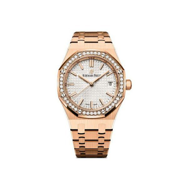 AUDEMARS PIGUET ROYAL OAK SELFWINDING 18K ROSE GOLD LADIES WATCH