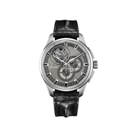 ZENITH EL PRIMERO TOURBILLON 45MM BRUSHED TITANIUM MEN'S WATCH