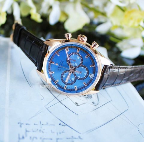 ZENITH EL PRIMERO LIMITED EDITION OF 50 PIECES 42MM 18K ROSE GOLD MEN'S WATCH