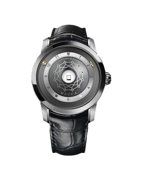 CHRISTOPHE CLARET MECCA LIMITED EDITION 44MM TITANIUM MEN'S WATCH