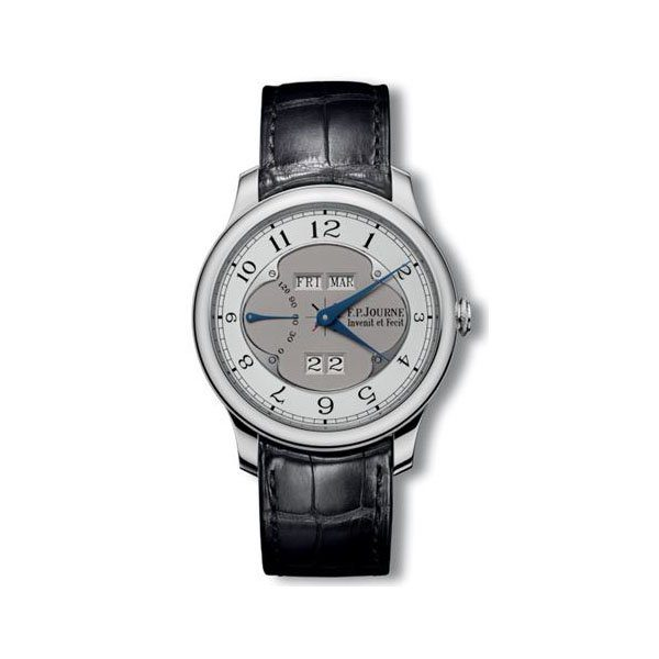F.P. JOURNE QUANTIEME PERPETUEL 40MM PLATINUM MEN'S WATCH