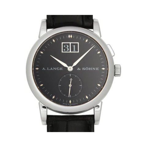 A LANGE & SOHNE SAXONIA PLATINUM 34MM MEN'S WATCH