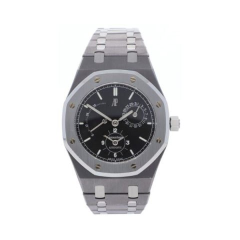 AUDEMARS PIGUET ROYAL OAK DUAL TIME 36MM TANTALUM MEN'S WATCH