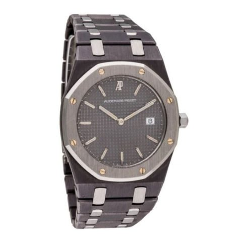 AUDEMARS PIGUET ROYAL OAK GREY DIAL LADIES WATCH 56175TT