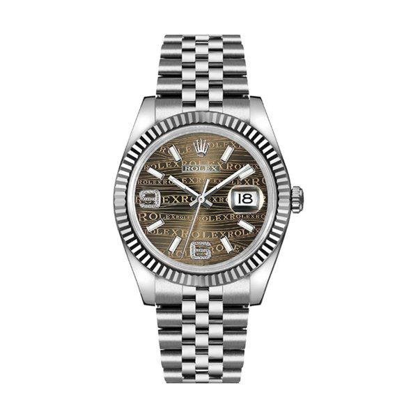 ROLEX DATEJUST 36MM STAINLESS STEEL LADIES WATCH