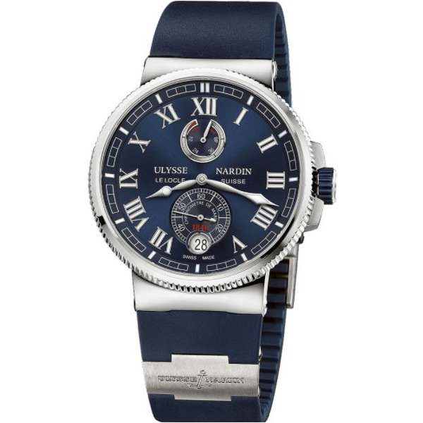 ULYSSE NARDIN MARINE CHRONOMETER MANUFACTURE 43MM MENS WATCH