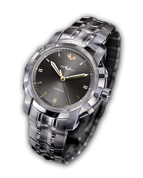 DEWITT GLORIOUS KNIGHT MALES WISHES GREY DIAL