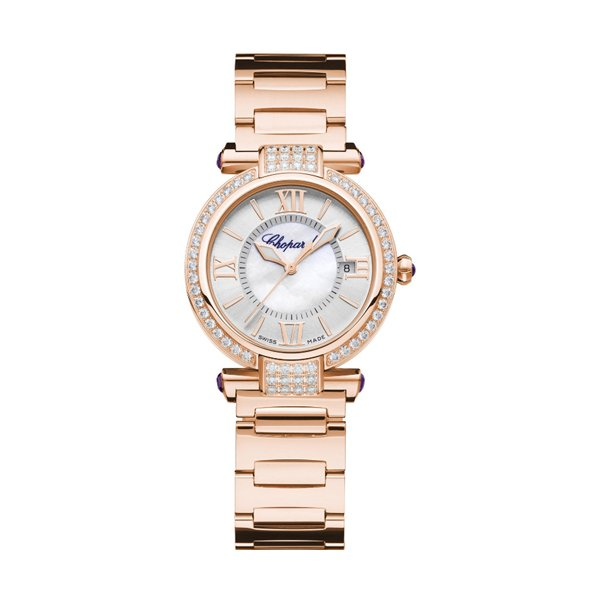 CHOPARD IMPERIALE AUTOMATIC 29MM 18KT ROSE GOLD LADIES WATCH REF 384319-5004