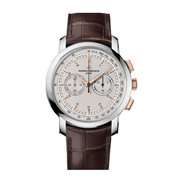 VACHERON CONSTANTIN TRADITIONNELLE CHRONOGRAPH WHITE & PINK