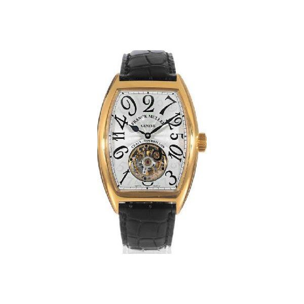 FRANCK MULLER CHRONOMETRO CURVEX 18K YELLOW GOLD AUTOMATIC