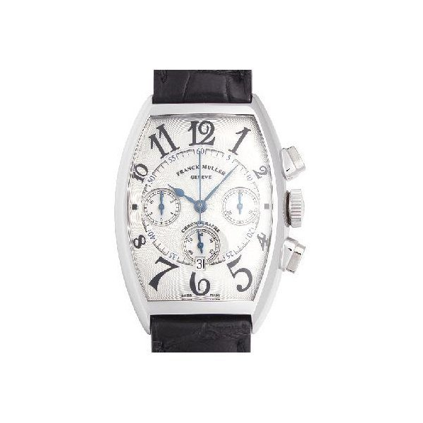 FRANCK MULLER CINTREE CURVEX CHRONOGRAPH AUTOMATIC WATCH 5850 CC AT