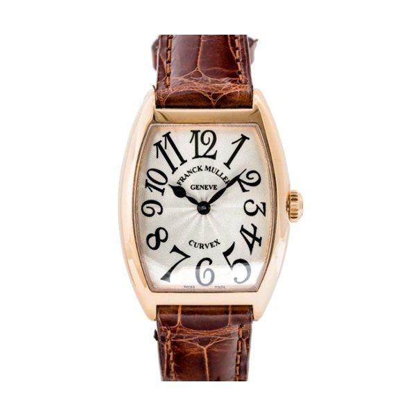 FRANCK MULLER CINTREE CURVEX SOLID ROSE GOLD 28MM LADIES WATCH