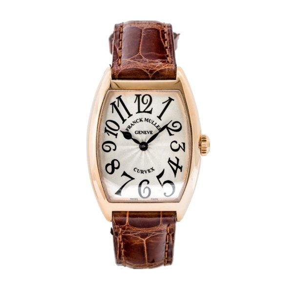 FRANCK MULLER CINTREE CURVEX SOLID ROSE GOLD 28MM LADIES WATCH REF. 7502 QZ